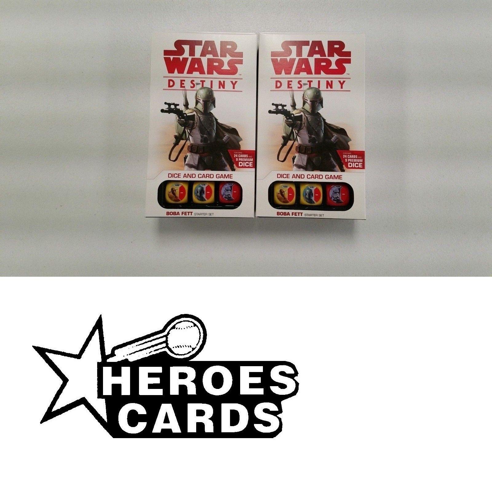 Star Wars Destiny Boba Fett Starter Set ~ Sealed