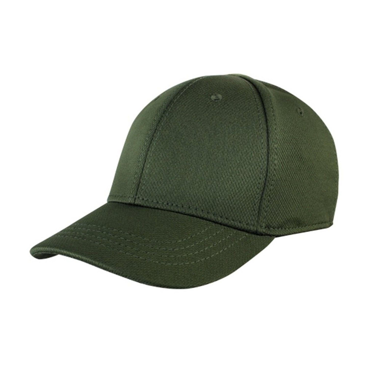 Condor Flex Tactical Team Cap (OD Green) + FREE Warrior Patch- Fitted Plain    Blank - C712MAX6L93 - Hats   Caps 565643cf692