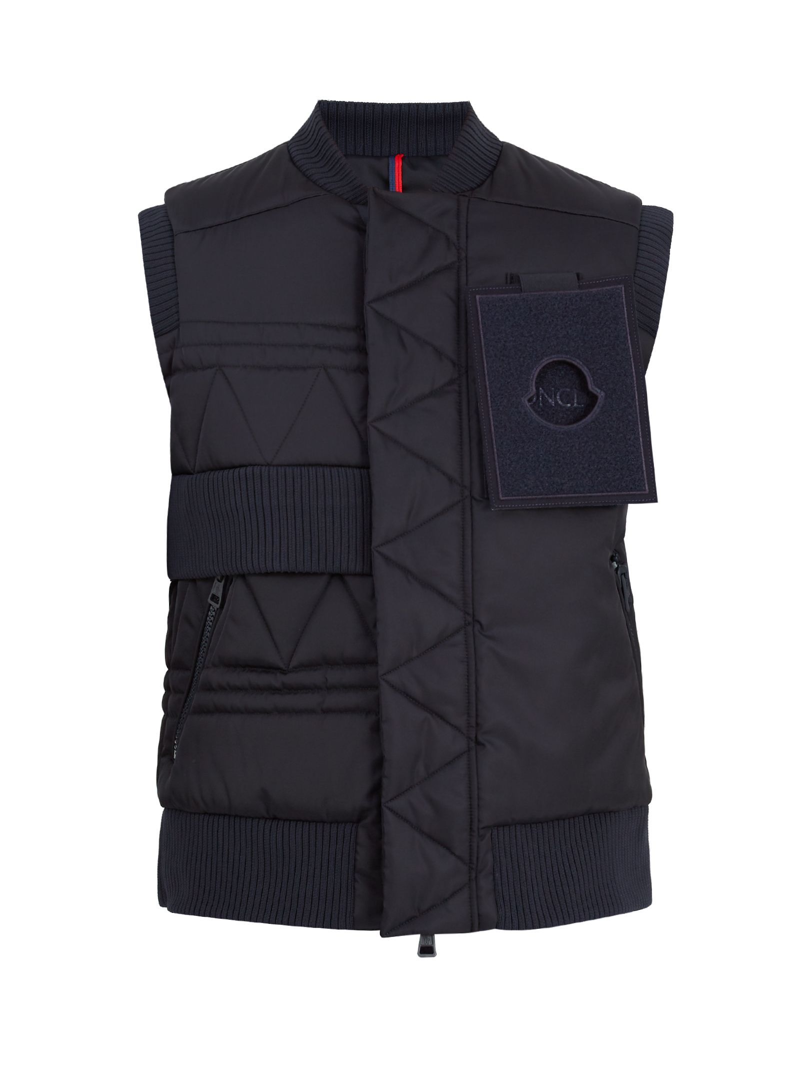 MONCLER C X CRAIG GREEN TRISH DOWN GILET. #monclerc #cloth #