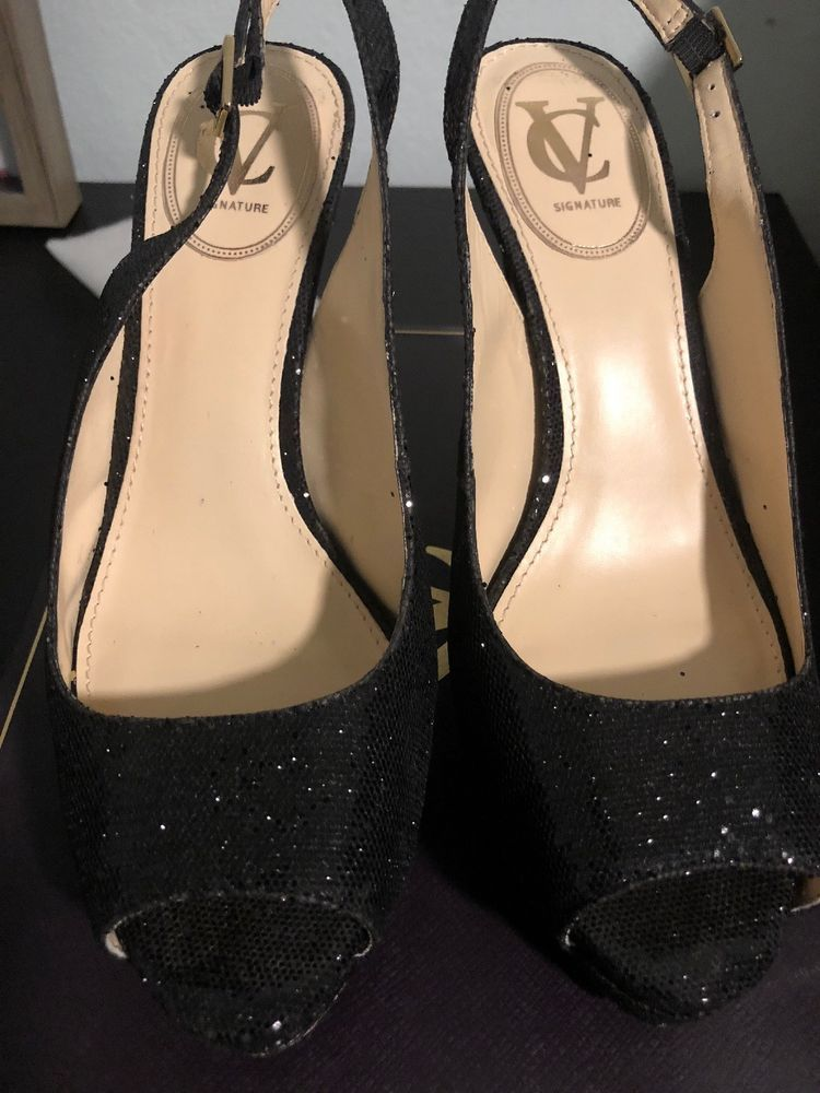 Vince Camuto Shoes 9 Fashion Clothing Shoes Accessories Womensshoes Heels Ebay Link Heels Peep Toe Shoes Gold Shoes Flats