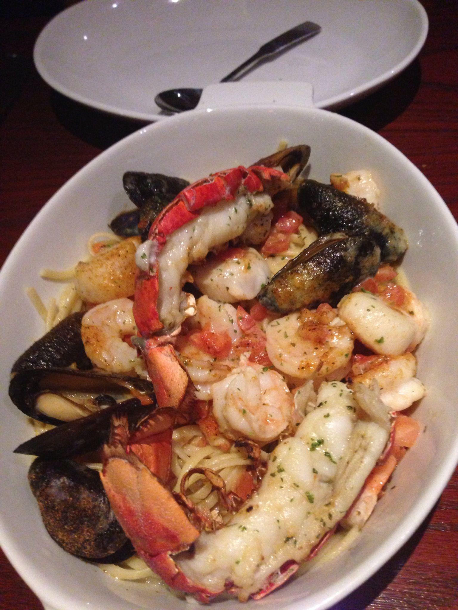 Seafood pasta | Seafood :) | Pinterest