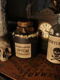 Old Pottery Opium Crock