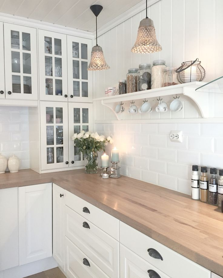 Kitchen! – #cuisineamenagement #Cuisineblancheetbois #Cuisinedeco #Cuisineikea