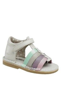 Kickers Sandal | Cute baby shoes, T strap sandals, Childrens