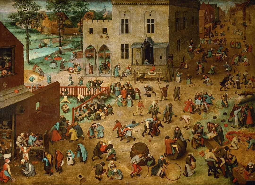Art History Feed On Instagram Children S Games Pieter Bruegel The Elder 1560 Bruegel Renaissance Arthistory Alte Kunst Kunstproduktion Kunstgeschichte