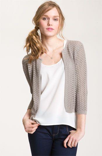 Crochet Cardigan | Things in my Closet | Pinterest | Strickjacke ...