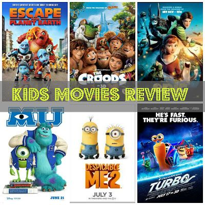 Review Of 2013 Kids Movies Kids Movies Kid Movies Films For Children