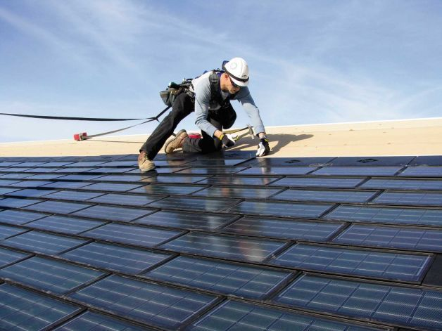 Solar Shingles On Roof Can Lower Utility Bills Solar