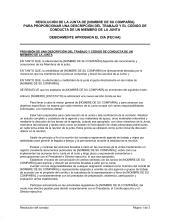 Resolución - Modelos de documentos por tipo | Biztree.com