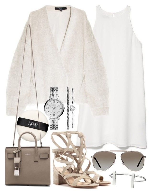 """Untitled #19349"" by florencia95 ❤ liked on Polyvore featuring MANGO, TIBI, NARS Cosmetics, Gianvito Rossi, Yves Saint Laurent, Tom Ford, FOSSIL and French Connection"