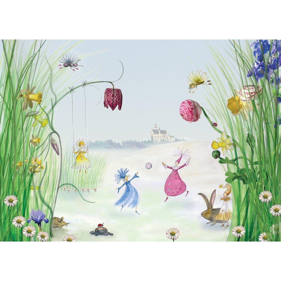 Fototapete Princess Kinder FT0014 254x184 Gemischt: Amazon.de ...
