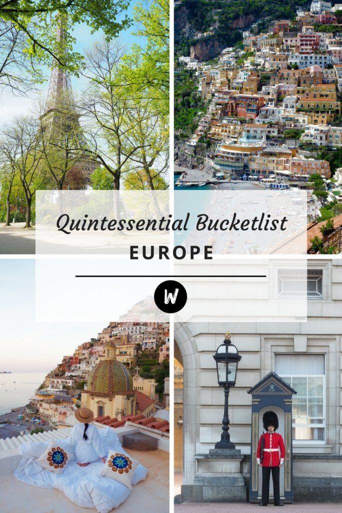 The Perfectly Quintessential European Bucket list #travel #travelinspiration #travelgoals #adventuretravel #traveltips #travelbucketlist #bucketlist #travelguide #travelitinerary #europe