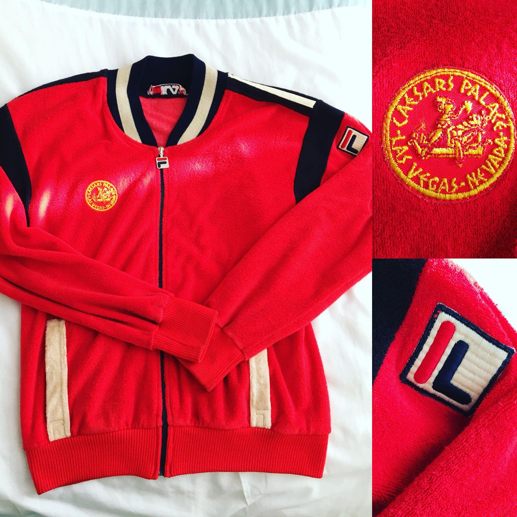Rare Fila 70's 80's Caesar's Palace Pro TT | Well dressed