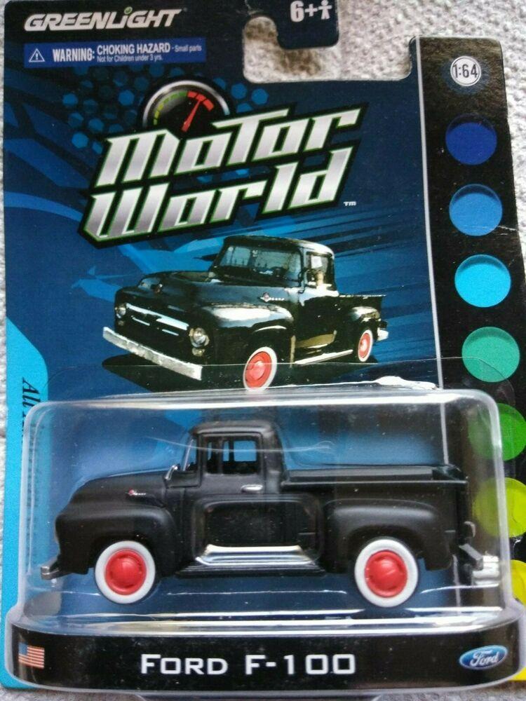 Green Light Motors >> Greenlight Motor World Ford F 100 All American Series Rubber