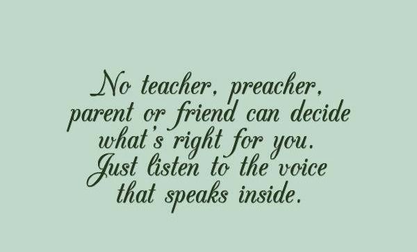 Sssst just listen