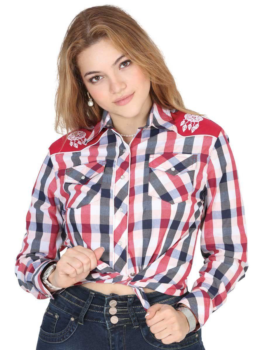 40473 Camisa Vaquera Manga Larga De Mujer \'El General\', 65 ...