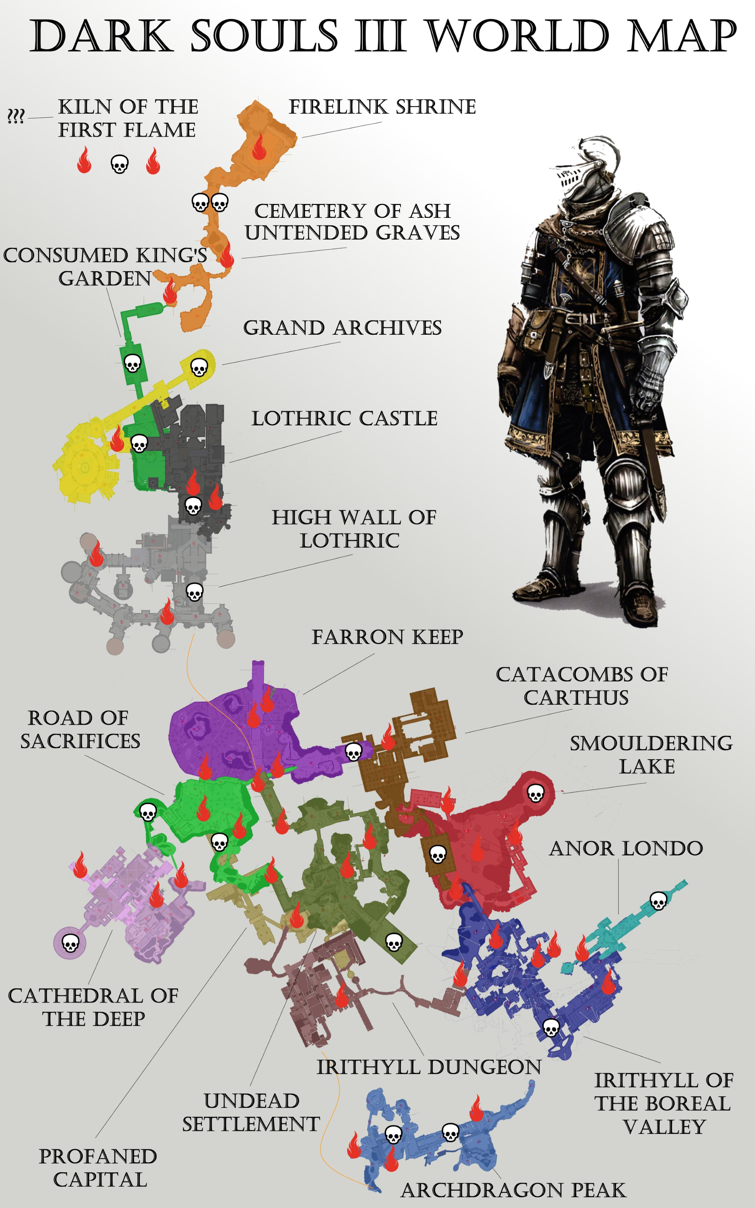 Dark Souls 2 World Map : souls, world, CAMPAIGN, QUESTS, Souls, Discussion, Steamforged, World, Valleduparnoticias.co