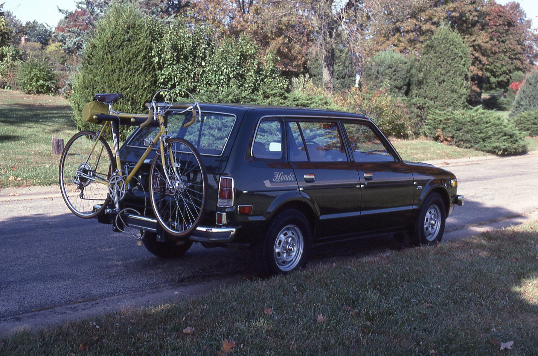 (#8) 1976 Honda Civic Wagon | Honda civic, Honda, Wagon