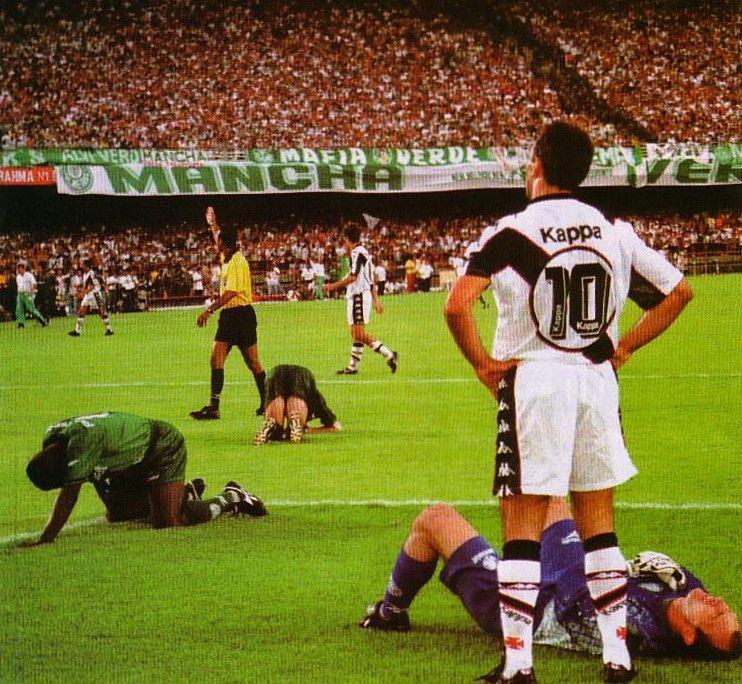 Vasco x Palmeiras 1997 CampeonatoBrasileiro Vasco da