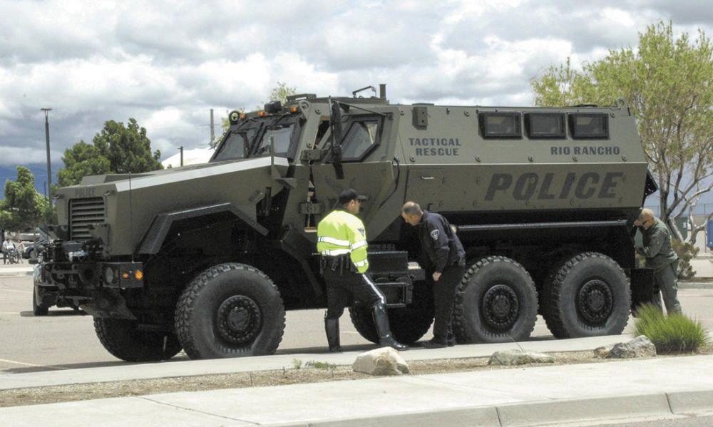 Kleberg county sheriff swat vehicle mrap upgrade
