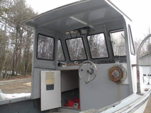 21 seaway lobster boat Lobster boat, Lobster, Fishing boats