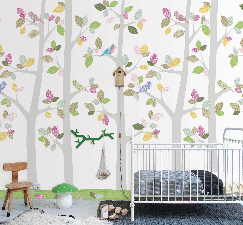 Nursery Wallpaper Uk Baby Furniture Modern Decor Room