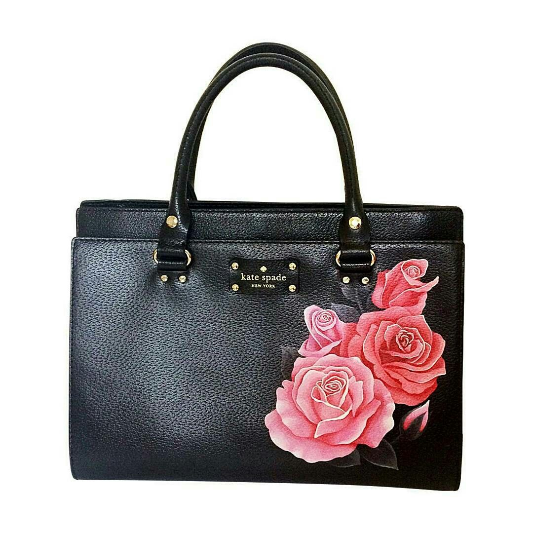 46d244613895 Handpainted bag. Created using Angelus Leather Paint