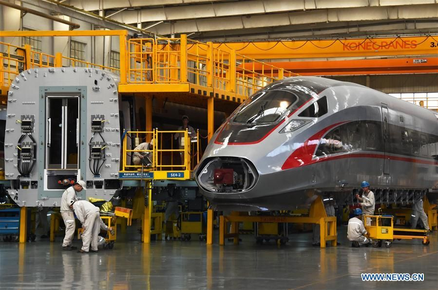 China takes 'great leap' in bullet trains Train, Qingdao