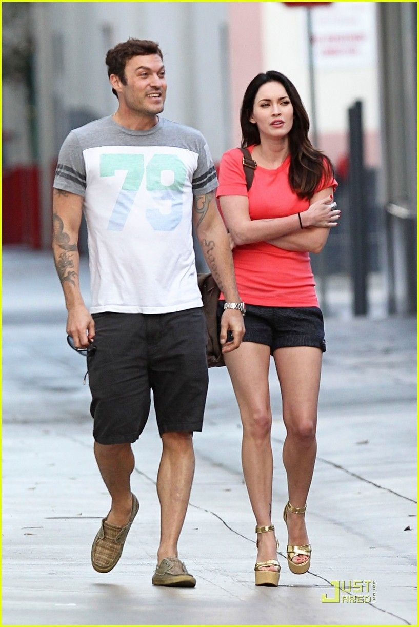 green Megan fox brian austin