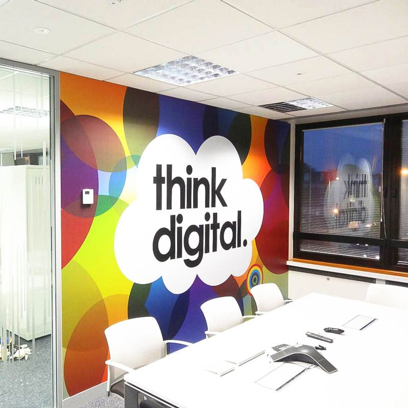 Www Vinylimpression Co Uk Office Branding Large Scale