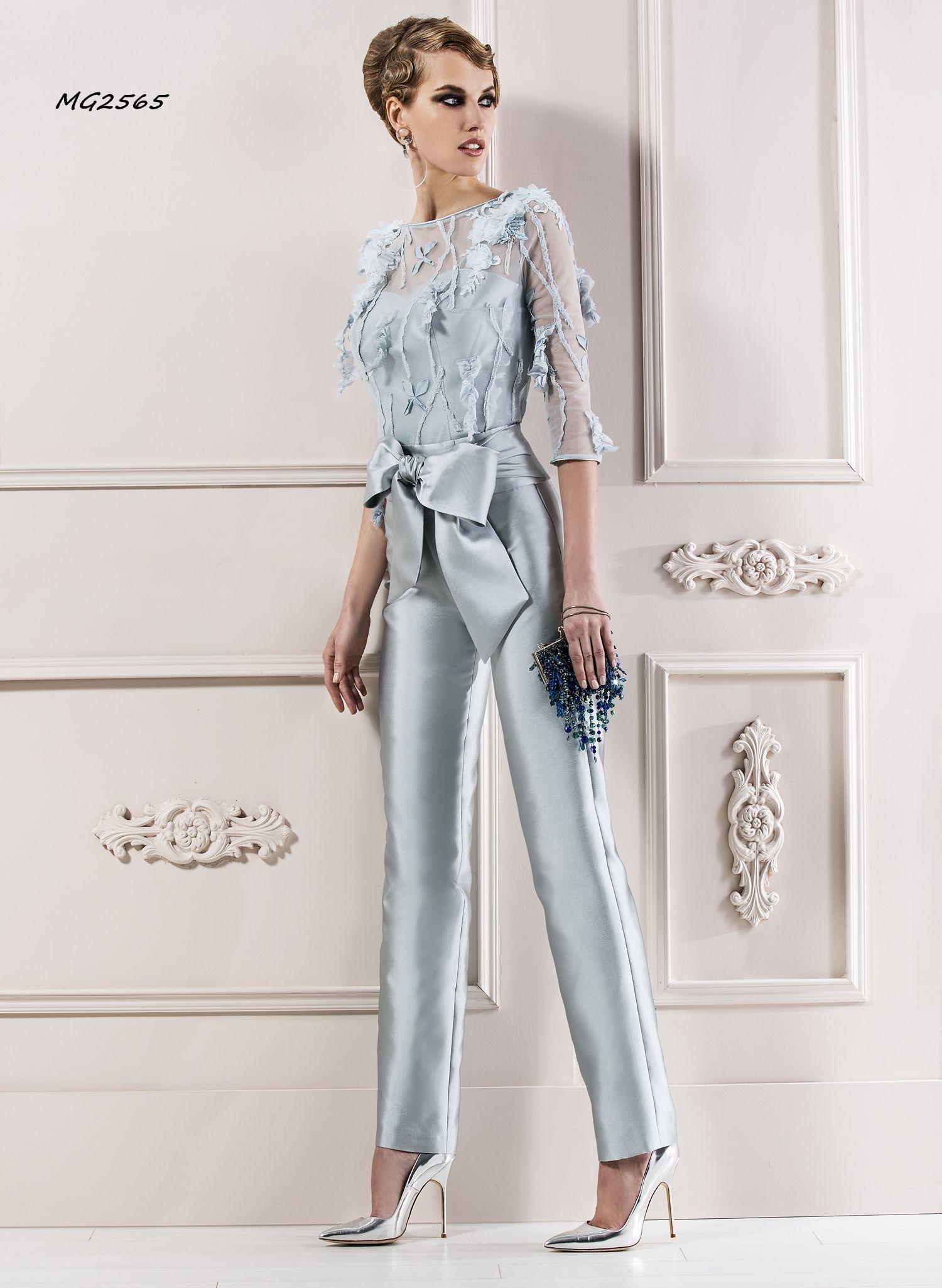 Resultado De Imagen Para Vestidos De Noche De Pantalon Para Mujer Trajes Pantalon Mujer Fiesta Trajes Elegantes Ropa Elegante