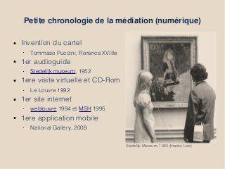 Chaine De Valeur Dans La Mediation Numerique Numeriques Chronologie Cartes
