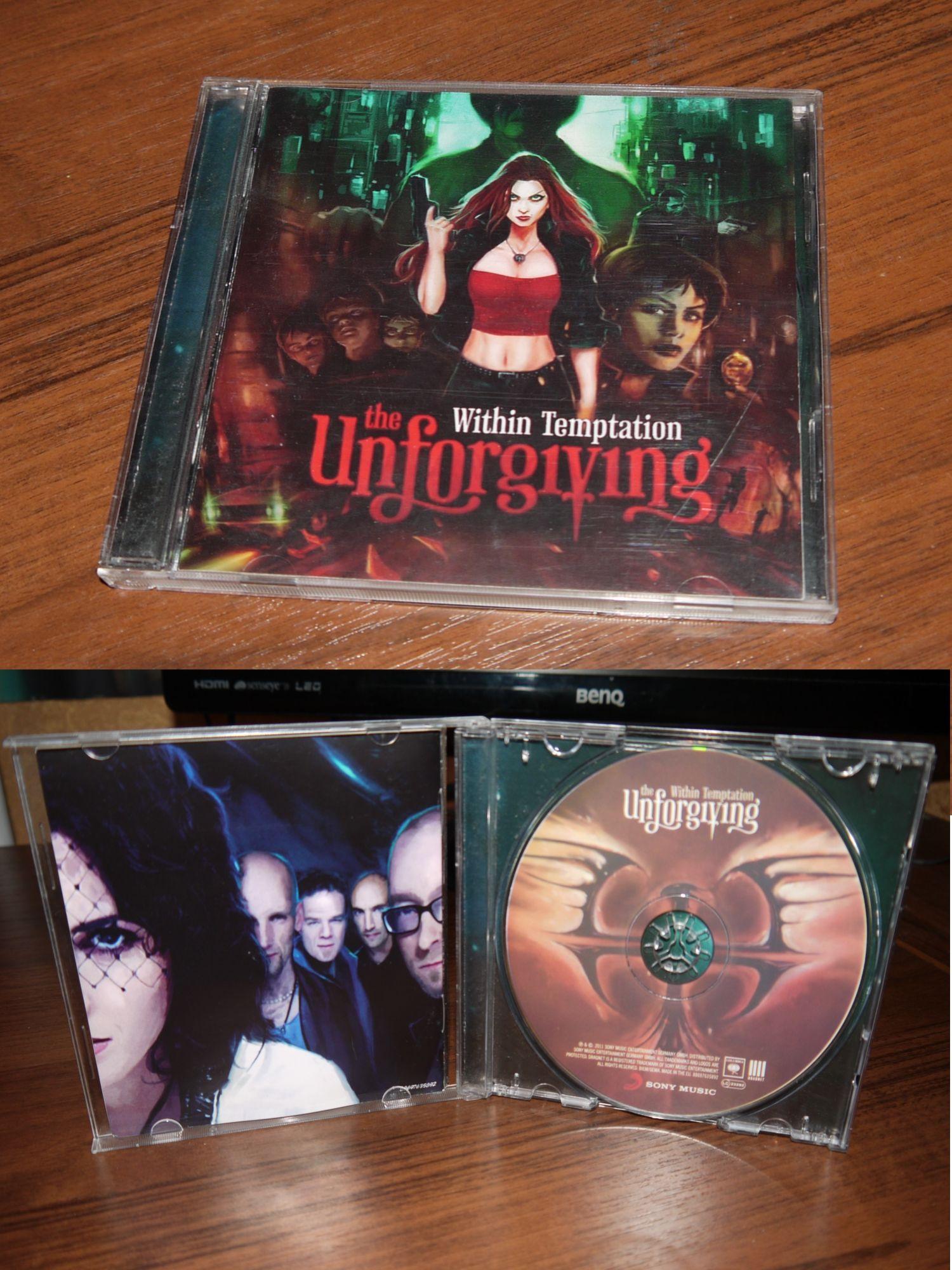 Within Temptation - The Unforgiving (jewel case) (Roadrunner 2011) Ukrainian edition