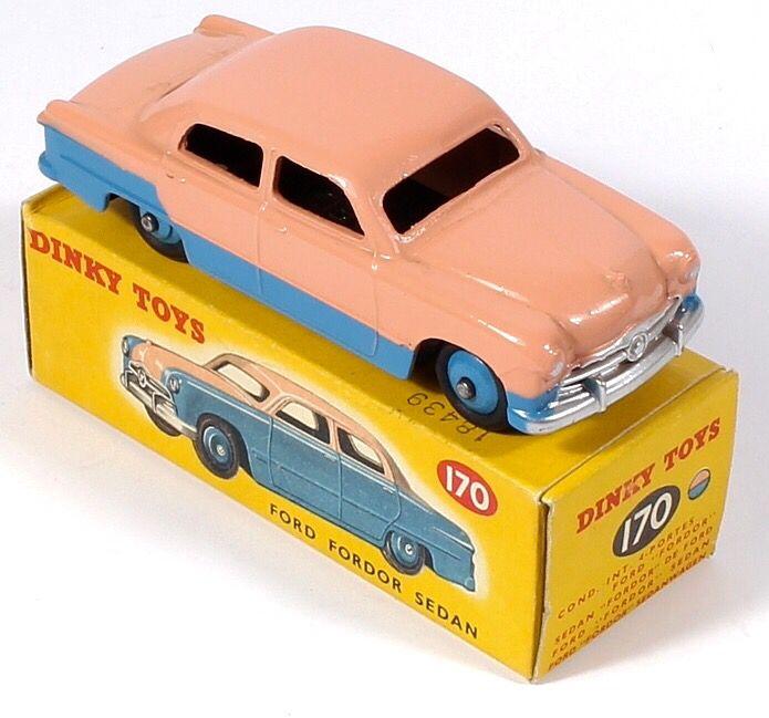 Dinky Toys 170 Ford Fodor Sedan Pic By Qualitydiecasttoys Com