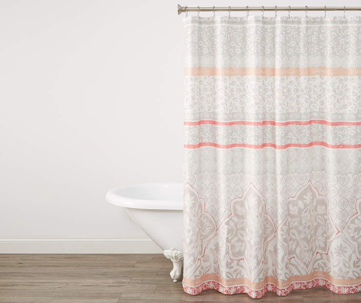 Living Colors Jessie Warmth Of Spring Microfiber Shower Curtain Curtains Shower Big Lots Store