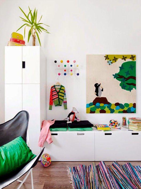 Chicdec habitaciones infantiles ikea storage deco habitaci n infantil ikea dormitorios y - Habitaciones nordicas ...