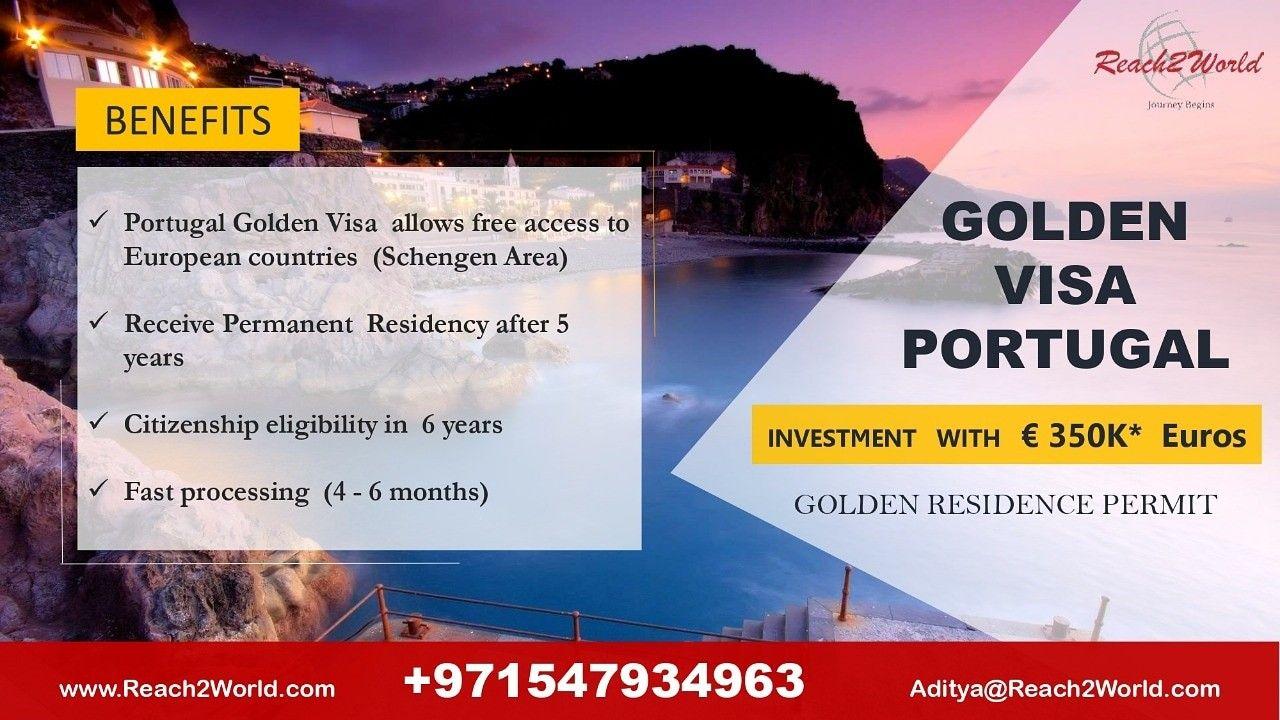 Portugal Golden Visa Reach2world immigration consultants