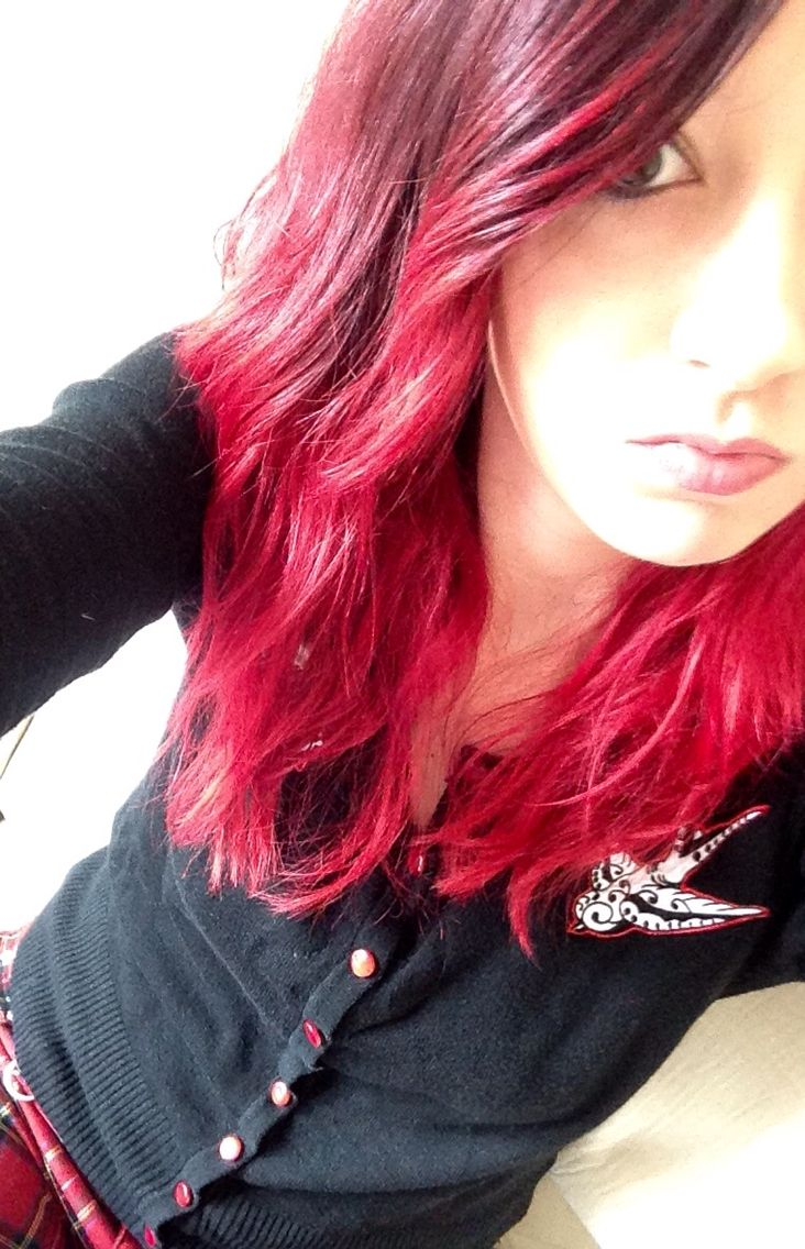 Manic Panic Vampire Red Hair Dye Haar