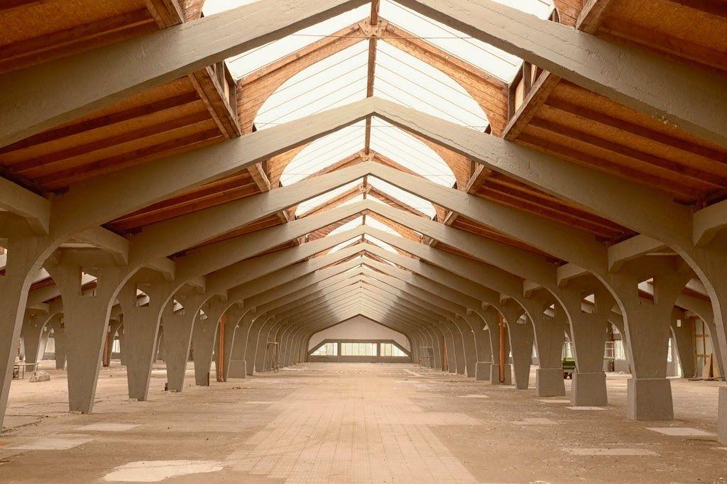 Friedrich Steinberg, Herrmann&Co. Hat Factory   Luckenwalde. Germany 1921-1923   Architect: Erich Mendelshon