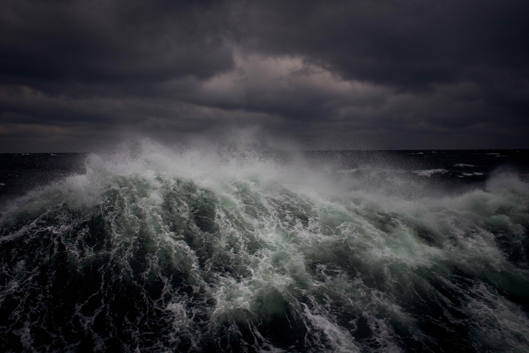 Эпический шторм библейских масштабов фото солнечной