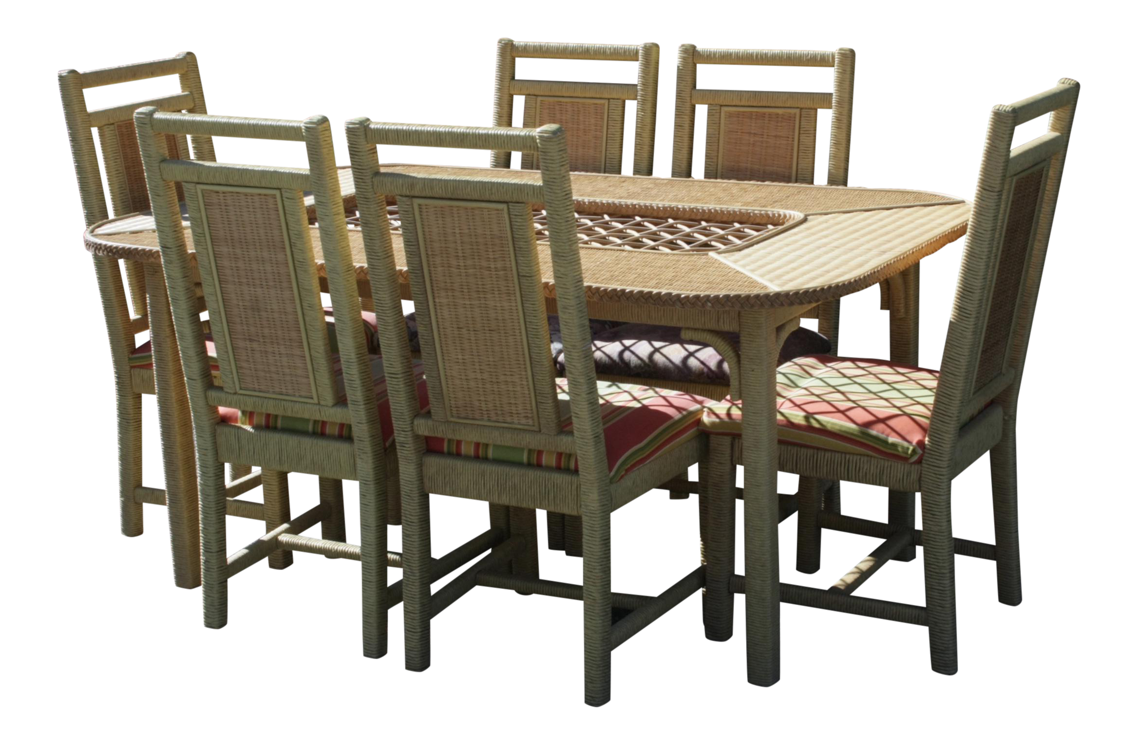 Henry Link Wicker Dining Set Wicker Dining Set Dining Table