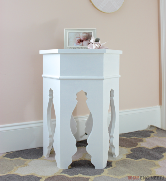 Diy Moroccan Side Table Plans Diy Woodworking Projects