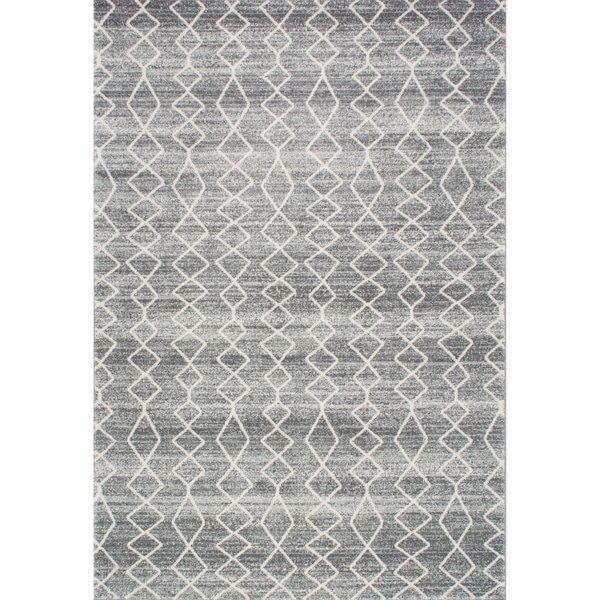 nuloom geometric moroccan trellis fancy grey area rug 8u0027 x - Grey Area Rugs