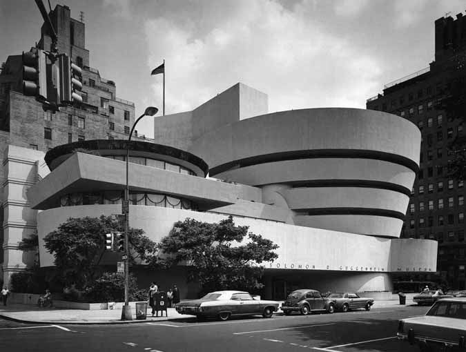 Frank Lloyd Wright Solomon R Guggenheim Museum New York 1956 59
