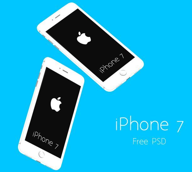 Free Floating White Iphone 7 Psd Mockups Titanui Mockup Free Psd Mockup Free Psd Download White Iphone