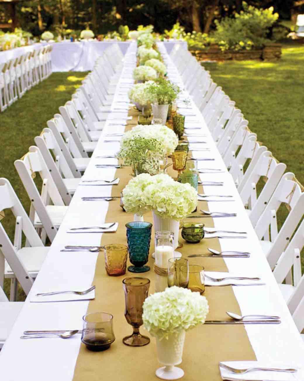 Martha Stewart Weddings Wedding Table Layouts Wedding Vases Wedding