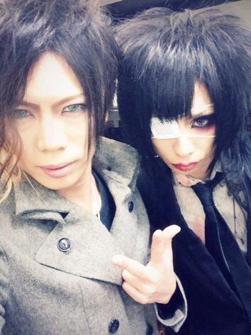 Ichirou (Lycaon) with Karma (AvelCain)