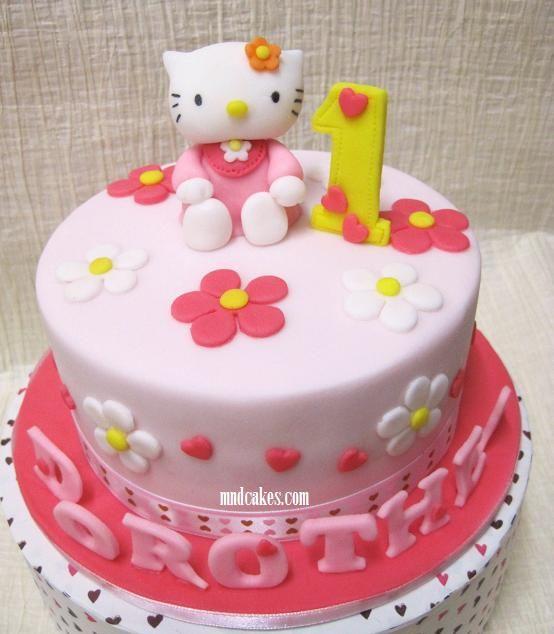 hello kitty birthday cake All Girls Sweetie Hello Kitty Cake