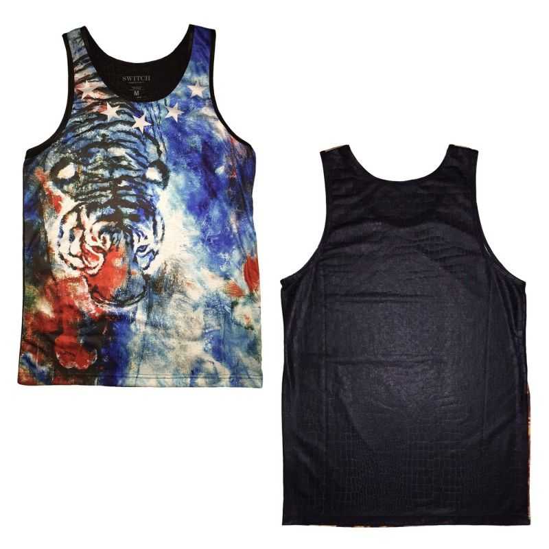 Wholesale Sublimation Tank Tops 6pc Pre-packed - TB Wholesaler