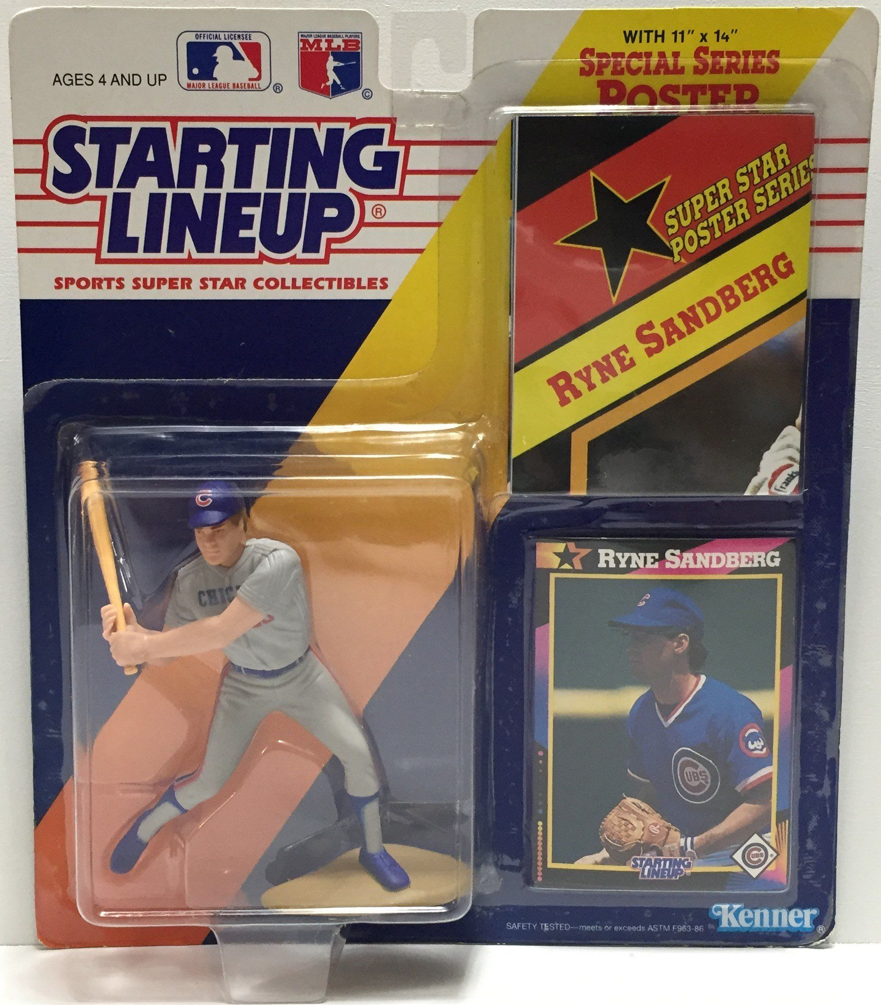 Starting Lineup Ryne Sandberg 1990 action figure